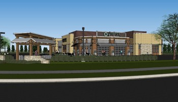 Illustration for the proposed Outpost Natural Foods coming to Mequon in 2013