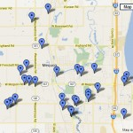 Map of Mequon, Wisconsin homes sold in June 2013